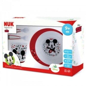 Harga NUK Disney Tableware Set - Mickey Mouse