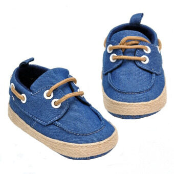 Harga In The Fall Of The New South Korean Baby With Toddlers Single BabyShoes Manufacturer 0 And 1 Year Old Baby A16 Denim Blue