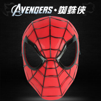 Iron Man Christmas's day male Spider Man helmet