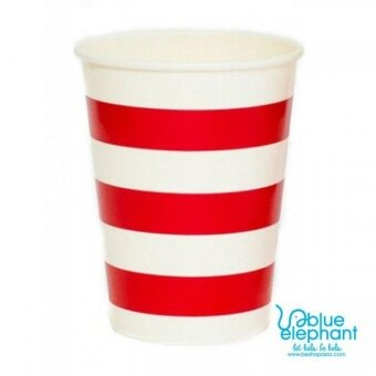 Harga Jayden & Co Red Stripe Paper Cup
