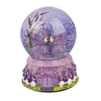 JNTworld Music Box Musical Toy Snow Luminous Music Box ChristmasBirthday Gift