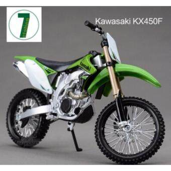 Harga KAWASAKI KX 450F Maisto 1:12 motorcycle model kids toy Motocrosscollection green Mountain biking gift boy KTM KX450F