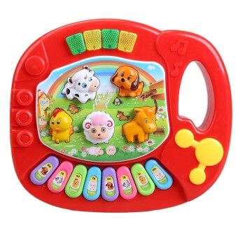 Harga Kids Musical Animal Farm Piano Education Development Toy