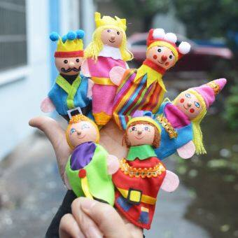 Harga Kindergarten role language area game doll hand puppet