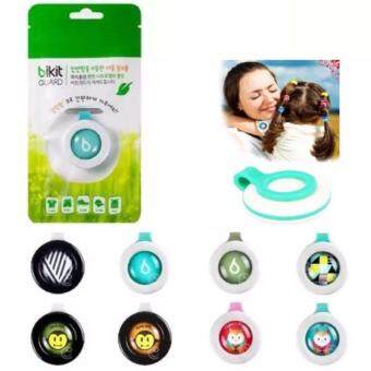 KOREA 5pcs BABY GIRL Bikit GUARD Clip Mosquito Repellent (Random Design)