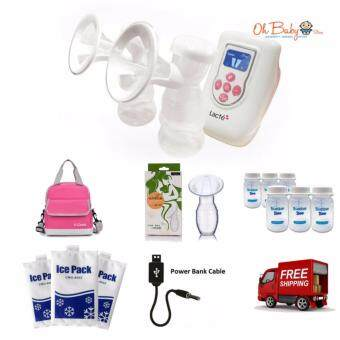 Harga Lacte - Duet Double Electric Breastpump Package