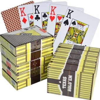 Harga Large Print plastic matte baccarat playing cards