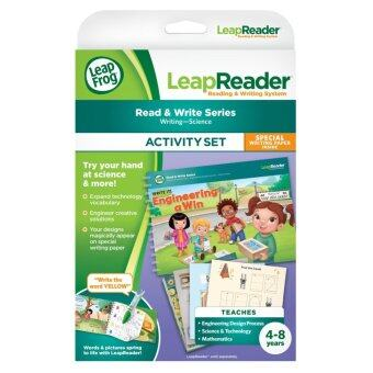 LeapFrog LeapReader Write it! Engineering A Win Activity Set