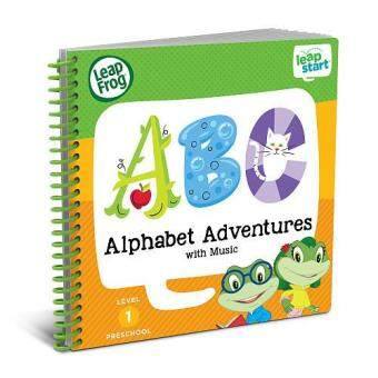 LeapFrog LeapStart Alphabet Adventures with Music 30+ Page ActivityBook (2-4 yrs)