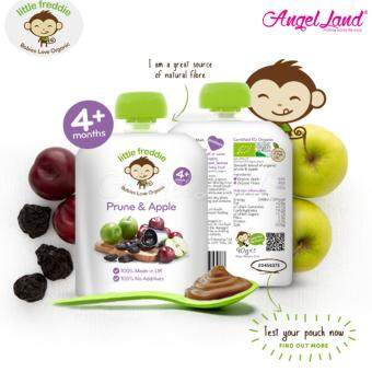 Harga Little Freddie Pouches (4m+) Prune & Apple 90g