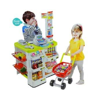 Harga Little Home Supermarket Set - Green