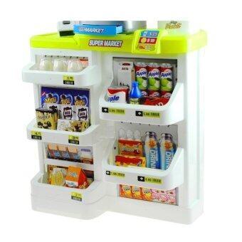 Little Home Supermarket Set - Green - 2