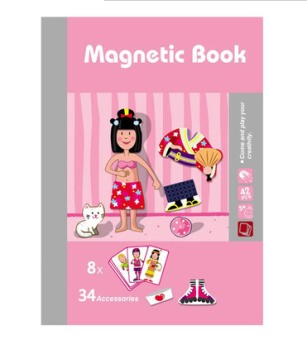 Magnet book handmade not educational magnet book toys