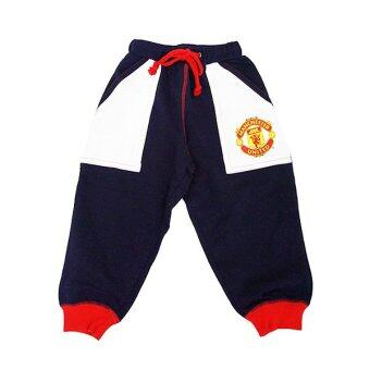 Harga Manchester United Long Knitted Pants ( Black)
