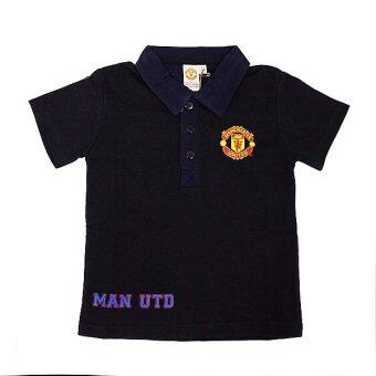 Harga Manchester United Polo Tee ( Black)