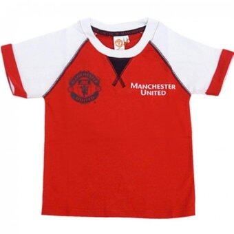 Harga Manchester United Round Neck Tee ( Red)