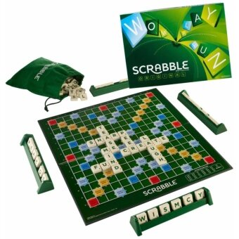 Harga Mattel Games - Scrabble Original English [Y9592]