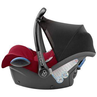 Maxi Cosi Infant Carrier Cabriofix RED ROBIN - 0-13KG - Infant Baby suitable car seat (Made in Holland) - Compatible with Quinny Zapp Xtra Stroller - BUILT IN Adapters for QUINNY strollers - 2017 NEW ARRIVAL - MAXICOSI/ MAXI-COSI - 5