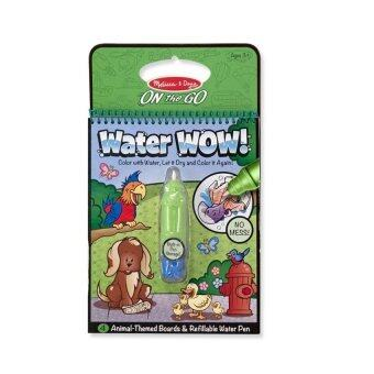 Melissa And Doug Water WOW! Colouring Book- Animals | Lazada Malaysia