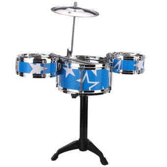 Harga Mini Jazz Drum- Blue