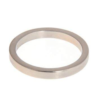 Mini Magnetic Ring Magic Props Magic Tricks Magictoys(Silver)-Middle