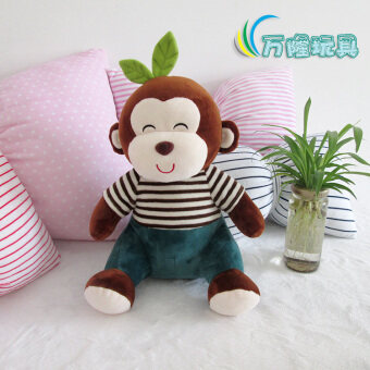 Harga Monkey doll Paul Frank plush toys cloth doll couple doll one pair of Tanabata Valentine's Day gift