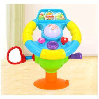Harga Musical Steering Wheel For Baby To Simulate driving Educational Toy