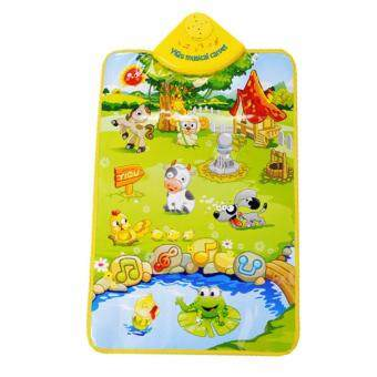 Harga NaVa Children Educational Musical Carpet Animal Farm Land PlasticPlay Mat