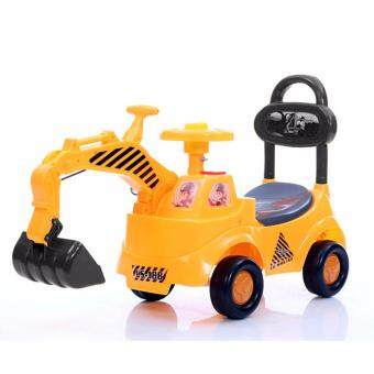 Harga NaVa Children Engineer Playing Learning Ride-On Tractor Excavator