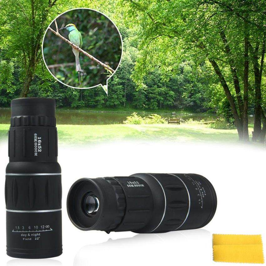 new 16 x52 Dual Focus Zoom Optic Lens Monocular Telescope Binoculars Multi Coating Lenses Dual Focus Optic Lens Day