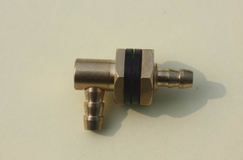 Harga New style fuel tank copper nozzle tee