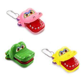 Harga New Toy Crocodile Dentist Bite With Keychain Mouth