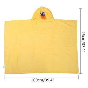 niceEshop 3D Duck Baby Infant Newborn Hooded Bath Towel Blankets - 2