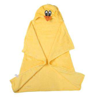 niceEshop 3D Duck Baby Infant Newborn Hooded Bath Towel Blankets - 4