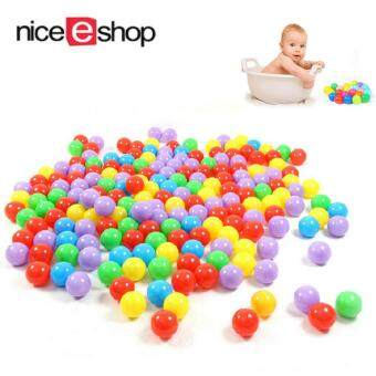 niceEshop Ball Pit Balls For Baby Kids 100pcs Non-Toxic Crush ProofOcean Plastic Ball