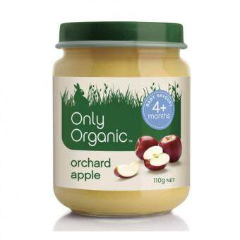 Harga Only Organic Orchard Apple Baby Fruit Jar 110g (4m+)