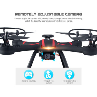 Harga Original JJRC H11WH 2.4G 4CH 6-axis Gyro 2.0MP HD Camera WiFi FPVRC Quadcopter RTF with Headless Mode 3D-flip Set-height ModeFunction