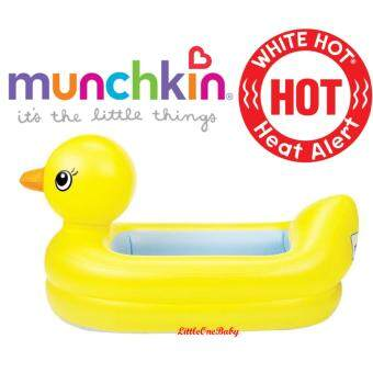 Harga Original Munchkin White Hot(R) Inflatable Safety Duck Bath Tub