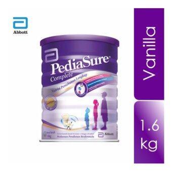 PEDIASURE Complete Nutrition Milk Powder - VANILLA 1.6KG (1 to 10 Years Old) [EXP: 2019/7]