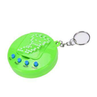 Harga Pet Electronic Toy Children Virtual Cyber Digital Pets Retro GameMachine Toys Green 5.5*1.5cm