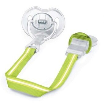 Philips Avent - Soother Clip Green