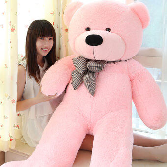 Harga Pink Stuffed Animal Teddy Bear Plush Soft Toy 100CM Huge Soft Toyintl