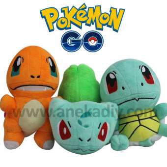Harga Pokemon Go - Bulbasaur Plush Soft Doll Toy