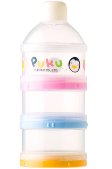 Harga PUKU 3 Layers Milk Powder Dispenser Formula Baby Infant ContainerPortable Box Case 100ml