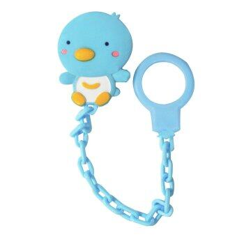 Harga PUKU Baby Pacifier Soother Chain Blue P11105B