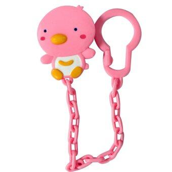 Harga PUKU Baby Pacifier Soother Chain Pink P11105P