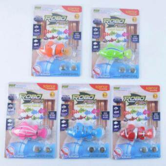 Harga (Ready stock) Swiming fish toys Robo fish