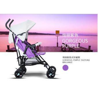 Harga Rhine BABY SUPER RIDER Baby Stroller 2017 two Tones (white purple)