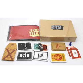 Harga Secret Hitlers Board Card Game A Hidden Identity Game for 5-10Players English Vision Party play
