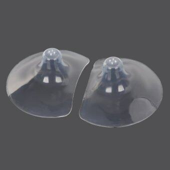 Harga Silicone Breastfeeding Mother Nipple Shields Protectors -Transparent (Pair)